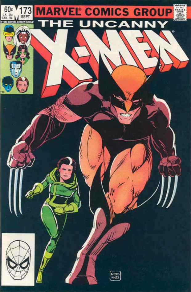 Uncanny X-Men #173 cover by Paul Smith (1983)