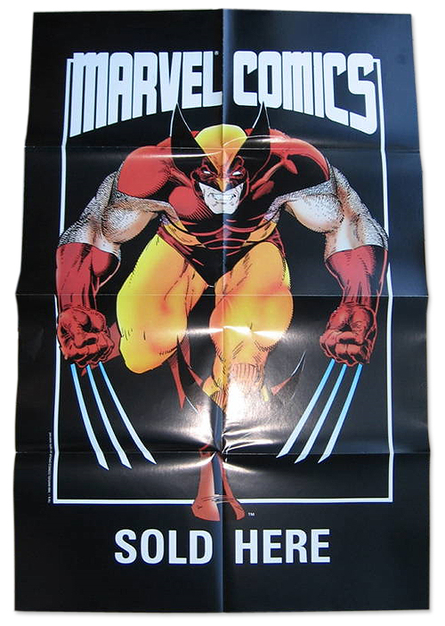 Wolverine poster by Art Adams (1987)