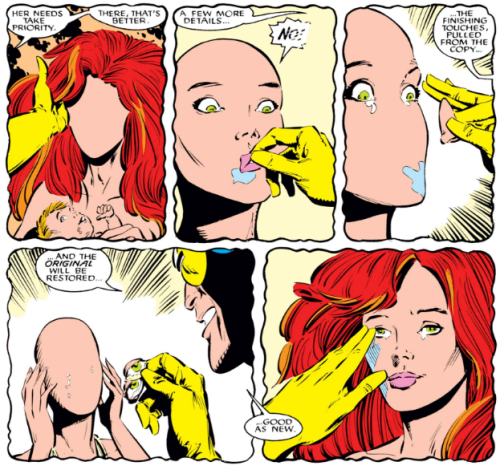 Madelyne Pryor gets stripped of humanity
